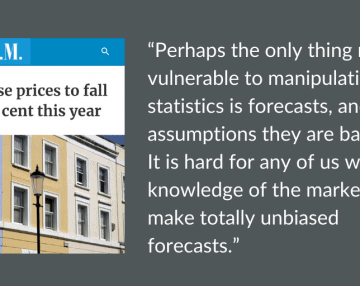 Press commentary: City AM's UK's house prices to fall by 5% this year