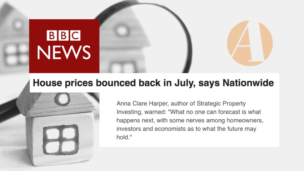 BBC News House prices bounced back in July house price data