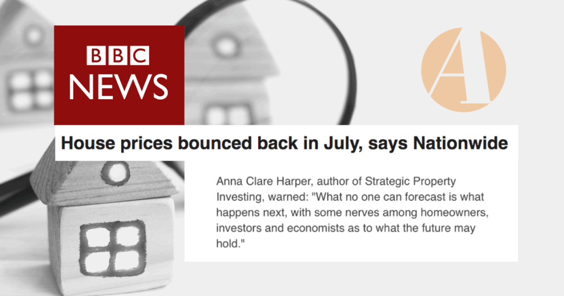 Thanks BBC News for sharing my thoughts on the latest Nationwide house price data released today.