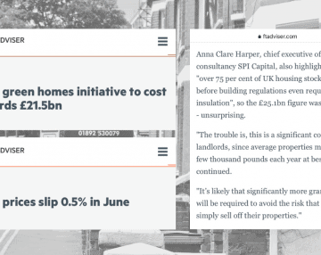 FT Adviser shares Anna's comments on two interesting news stories this week