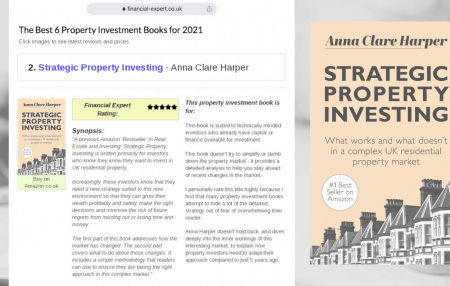 Anna was delighted to discover that her book has reached #2 in Financial Expert