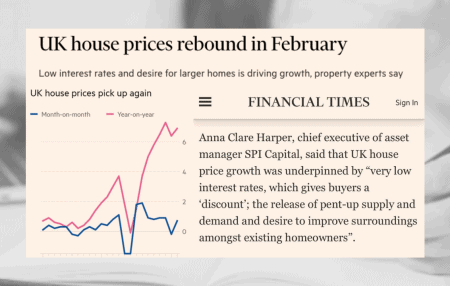 Thanks to Financial Times,BBC NewsandProperty Reporterfor sharing my thoughts on the latest house price data fromNationwide showing a surprise increase in house prices in February.  And thank you Rishi for extending the temporary reduction in SDLT, and for tapering to avoid a 'cliff edge'.