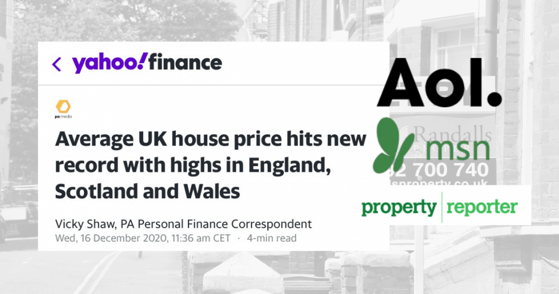 October's House Price Index data released: Anna comments featured in the press