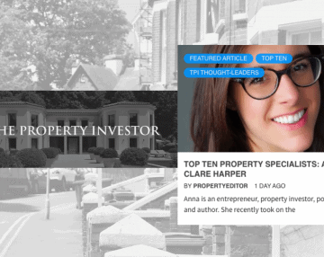 Anna featured in list of 'Top Ten Property Specialists'