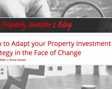 The Property Investor's Blog: How to Adapt your Property Investment Strategy in the Face of Change