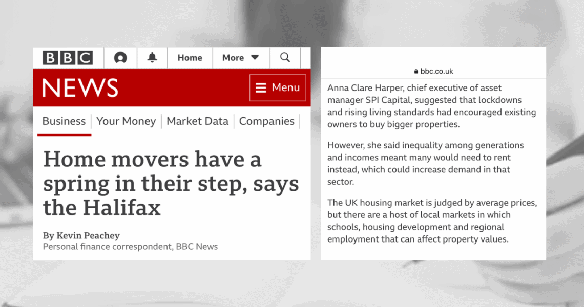 Rental demand is only going one way, with current and forecast house price growth. ThanksBBCfor sharing my thoughts.