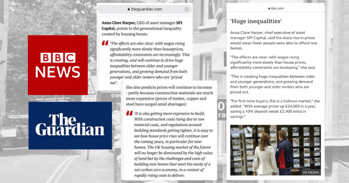 Thanks to BBC News, The Guardian and Property Reporter for publishing my thoughts on today's HPI Data. What investors and homebuyers alike all want to know is, 'what next?'