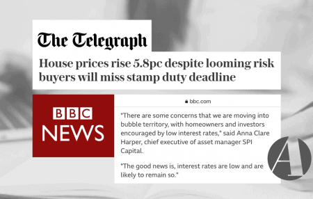 Thanks BBC News and The Telegraph for publishing my thoughts on the latest house price data from Nationwide, which make for interesting reading. Quick summary below: