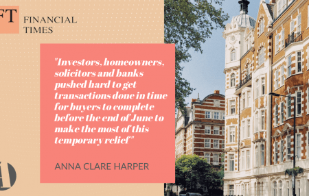 Housing transactions fell by 62.8% between June and July 2021, and it's no surprise or concern. Investors, homeowners, solicitors and banks pushed hard to get transactions done in time for buyers to complete before the end of June to make the most of this temporary relief, creating a bumper month. Check out the full commentary […]